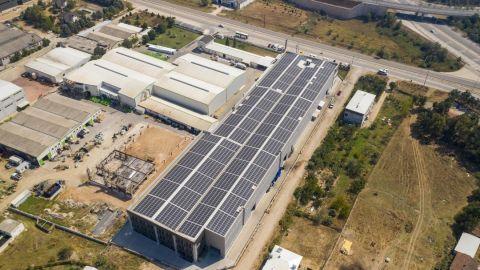 CW ENERJİ GÜNEŞ ENERJİ SANTRALİ (GES) BURSA 941,16 kWp