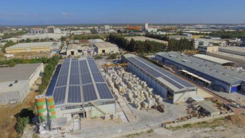 CW ENERJİ GÜNEŞ ENERJİSİ SANTRALİ (GES) ANTALYA DÖŞEMEALTI 550 KWP